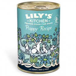 Lily's Kitchen Dog Turkey & Duck Puppy Recipe 400 g