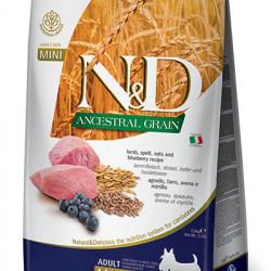 N&D Low Grain Mini Dog Miel și Coacăze 2.5 kg