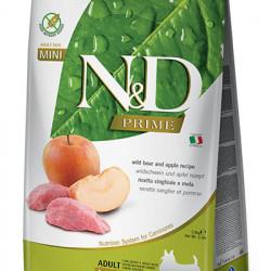 N&D Prime Adult Mini Dog Mistreț și Măr 7 kg