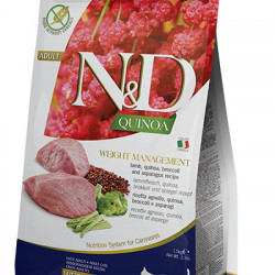 N&D Quinoa Cat Weight Management cu miel
