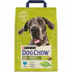 Purina Dog Chow Large Breed Adult cu carne de Curcan 2.5 kg