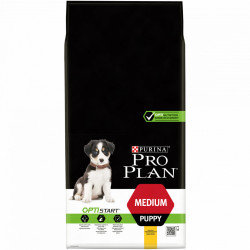 Purina Pro Plan Medium Puppy, bogata în Pui