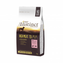 True Instinct Dog High Meat Medium - Maxi Adult cu Somon 2 kg