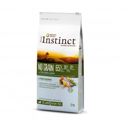 True Instinct Dog No Grain Medium & Maxi Puppy cu Somon 12 kg