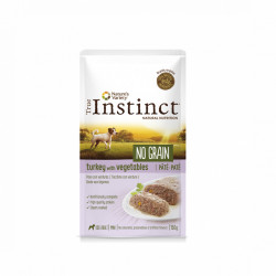 True Instinct No Grain Dog Mini Pate curcan 150 gr