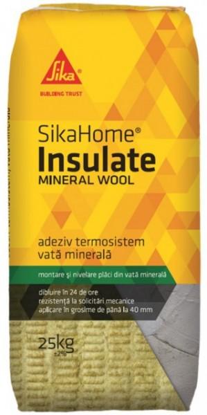 Poze Adeziv vata si polistiren extrudat SikaHoma Insulate Mineral Wool, 25 kg