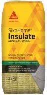 Adeziv vata si polistiren extrudat SikaHoma Insulate Mineral Wool, 25 kg