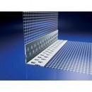 Coltar PVC/AL. cu plasa 10x10 cm - 2.5 m