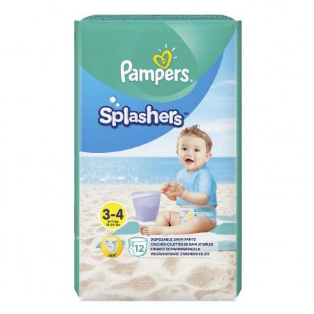 Scutece Pampers Splash 3 (pentru apa) 12 buc