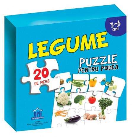 Legume ( puzzle podea 50/70 + afis 50/70 )