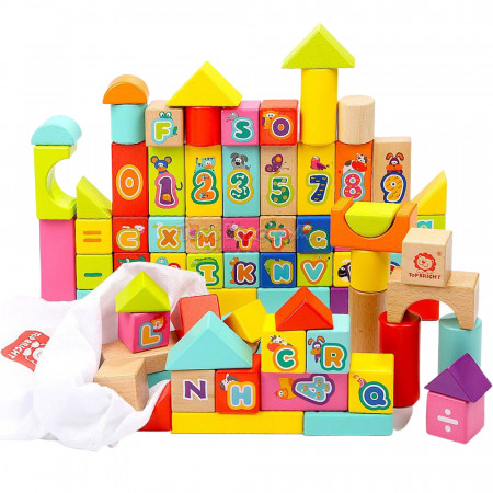 Cuburi pentru construit - Numere si Litere