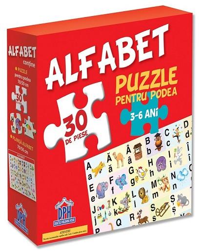 Alfabetul ( puzzle podea 50/70 + afis 50/70 )