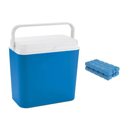 Lada frigorifica pasiva Atlantic, 24L cu 2 pastile de racire incluse