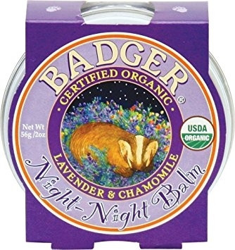 Mini balsam pt un somn linistit, Night-Night Baby Badger, pt copii, 21 g