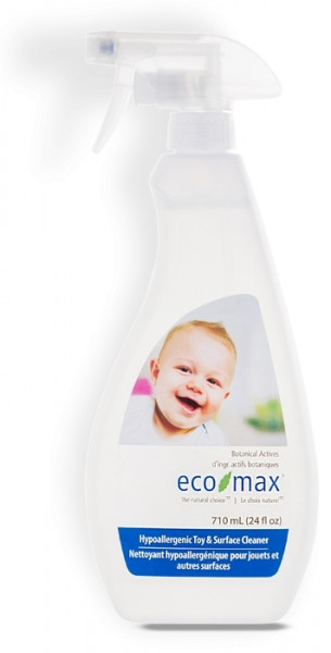 Solutie pt curatare jucarii si camera bebelusului, Ecomax, 710 ml