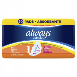 Absorbante Always Classic Normal Plus Duo, 20 buc