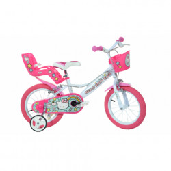 DINO BIKES Bicicleta copii 14'' Hello Kitty