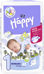 Happy New Born, 2-5 kg, 42 buc