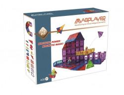 MAGPLAYER Set de constructie magnetic - 112 piese