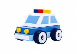 Masina Politie de lemn