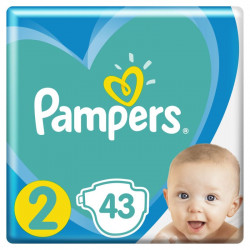 Pampers New Baby - nr.2, 4-8 kg, 43 buc