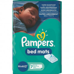 Protectie Pat Absorbanta Pampers Bad Mats 90x80cm 7 buc