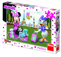 Puzzle - Minnie si Daisy - 24 piese