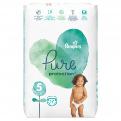 Scutece Pampers Pure, Nr.5, 11+ kg, Carry Pack, 17 buc