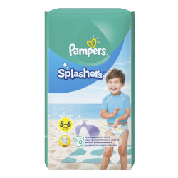 Scutece Pampers Splash 5 (pentru apa) 10 buc