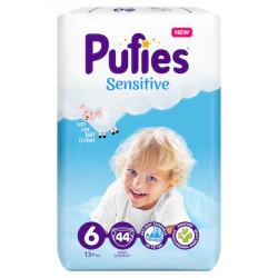 Scutece Pufies Sensitive Nr.6, 13+kg, 44 buc
