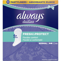 Absorbante zilnice Always Dailies Fresh & Protect Normal, 60 buc