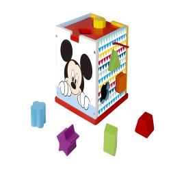 Cutie de sortat forme de lemn,Mickey