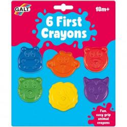 Galt Set 6 creioane colorate - Animalute
