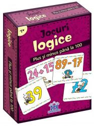 Jocuri logice - plus si minus pana la 100 - jetoane
