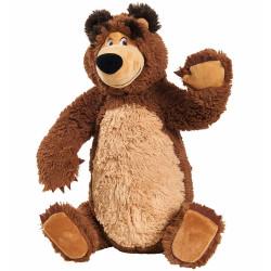 Jucarie de plus Masha and the Bear, Bean Bag Bear 43 cm