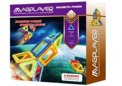 MAGPLAYER Joc de constructie magnetic - 14 piese
