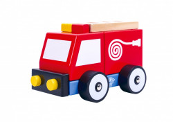 Masina Pompieri,de lemn