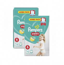 Pachet 2 x Scutece chilotel Pampers Pants Nr.6, 44 buc (88 buc)