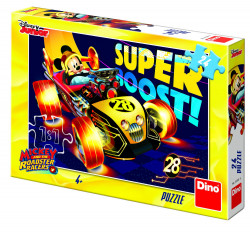 Puzzle - Clubul lui Mickey Mouse - 24 piese