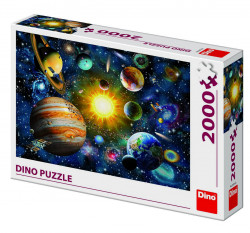 Puzzle - Sistemul Solar (2000 piese)