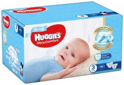 Scutece Huggies Ultra Confort BOX 3, Baieti, 5-9 kg, 112 buc