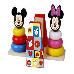 Turnuri de stivuire in echilibru,Minnie si Mickey