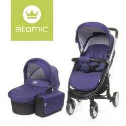 Carucior 4Baby ATOMIC 2 in 1 Purple