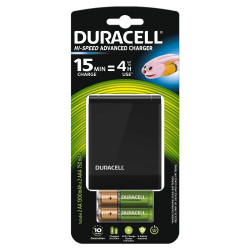 Duracell incarcator CEF27+Duracell acumulatori AAK2 1300mAh+Duracell acumulatori AAAK2 750mAh
