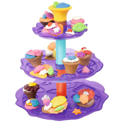 Jucarie Etajera prajituri Art and Fun Cupcake Etagere