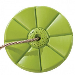 Leagan rotund din plastic PP, verde