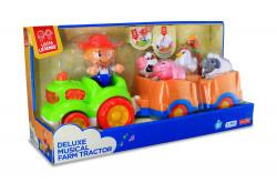 Little Learner Jucarie muzicala - Tractorul de la ferma