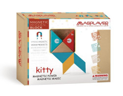 MAGPLAYER Set magnetic din lemn - 6 piese