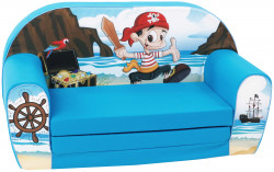 Canapea extensibila din burete Pirate