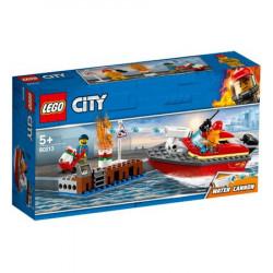 Lego® City - Incendiul la docuri (60213)